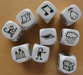 Rory´s Story Cubes, Set Voyages